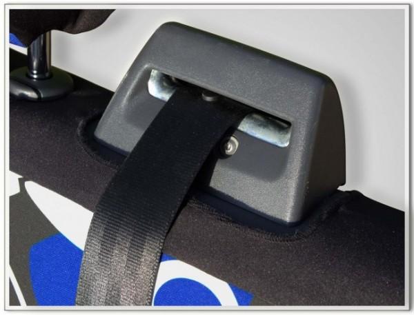 VW T5 / T6 Transporter Doppelsitzbank vorne Bezug inkl. Kopfstützenbezüge