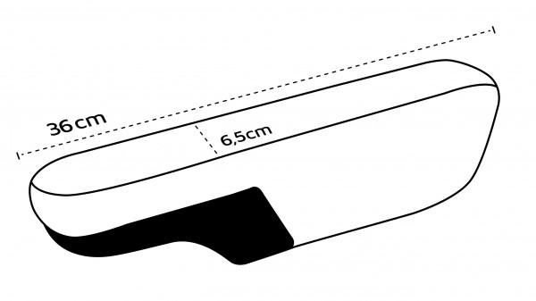 Armlehnenbezüge breit (T4, Ducato) - 4er Set