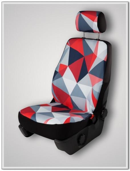Sitzbezug (geteilt) inkl. Kopfstützenbezug, Fire
