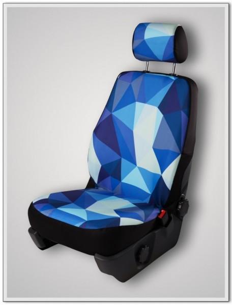 Paar Sitzbezüge (geteilt), Origin, inkl. Kopfstützenbezügen